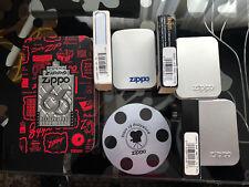 ZIPPO Lighter Empty Tin Lot 65th yr. Marilyn James Bond Beatles Petty Girl