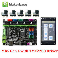 3D Printer Control Board MKS Gen L V1.0 and MKS TFT32 5PCS TMC2208 Driver