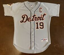 Vintage Russell Detroit Tigers Red Wings Steve Yzerman Custom Baseball Jersey