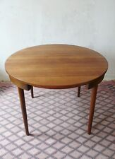 TABLE  EN TECK HANS OLSEN DESIGN FREM ROJLE MADE IN  DANMARK ANNEES 70 VINTAGE
