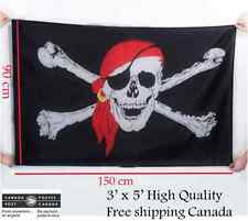 Huge Giant 3 ' x 5 ' High Quality Drapeau Pirate - Skull Flag Halloween Bateau
