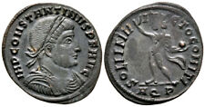 More details for constantine the great (317 ad) scarce follis. aquileia #ma 9222