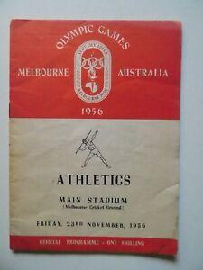 1956 Olympic Games Track Field Athletics 23 Nov Kuts vs Pirie Fikotova Dumas