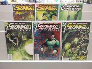 GREEN LANTERN REBIRTH MINI SERIES 1-6 COMPLETE SET DC COMICS 2004
