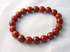 Red Jasper Bracelet Natural Stones Beads Crystal Healing Chakra 10mm Gemstone