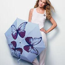 Flutter Away Butterfly Umbrella - Stylish & Compact - Trendy - Blue