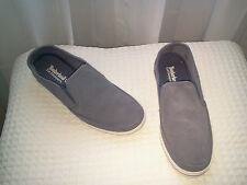 TIMBERLAND EARTHKEEPER CASCOBY SLATE SUEDE SLIP ONS-SIZE 8.5-Retail $105-NEW
