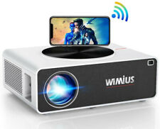 WiMiUS 7200 1080P Full HD Beamer Unterstützung 4K LED Heimkino Videobeamer 300?