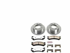 For GMC Yukon XL 2500 Brake Pad and Rotor Kit Power Stop 22767TC