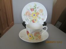 Wedgwood Summer Bouquet Pattern Tea Coffee Trio Cup Saucer & Plate 5 Available
