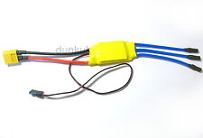 30A Mystery Speed Controller With Connectors RC ESC Brushless Motor UK XT60