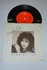 JENNIFER RUSH - Ring Of Ice - 1985 UK CBS 2-track 7""