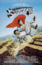 SUPERMAN III ORIGINAL MOVIE POSTER  ROLLED ONE SHEET