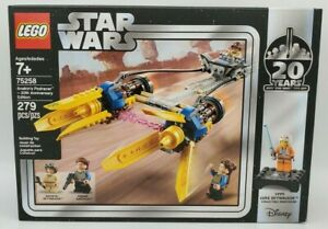 LEGO Star Wars: Anakin's Podracer - 20th Anniversary Edition (75258) BRAND NEW