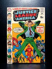 COMICS: DC: Justice League of America #77 (1969), the Joker app - RARE