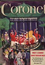1947 Coronet June - Pennsylvania Mennonites; Irving Berlin; Fabulous New York;
