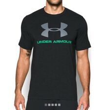 Under Armour * UA Charged Cotton Sportstyle Logo Tshirt Black Large