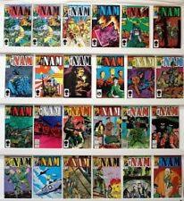 Nam  Lot of 62 comics   NM Issue #'s: 1-30 STRAIGHT RUN & more- see below