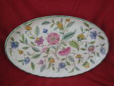 Minton Green HADDON HALL scanalata piatto ovale