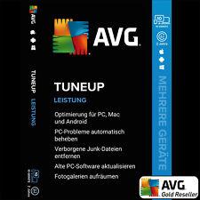 TuneUp Unbegrenzt 2021 Mehrere Geräte / Multi-Device | 2 Jahre | AVG TuneUp DE