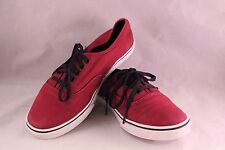 PAIR OF MEN'S SIZE 6.5 PLUM VANS OFF THE WALL SNEAKERS OR TENNIS SHOES