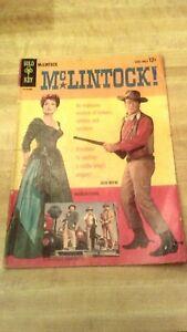 Gold Key McLintock 1963 John Wayne. Maureen O'Hara. Good+