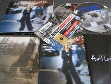 AVRIL LAVIGNE/ let go / JAPAN LTD CD&DVD OBI slipcase