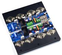 Assembeld HIFI UPC1342V+MJ15024/MJ15025 gold seal stereo amplifier board 160W