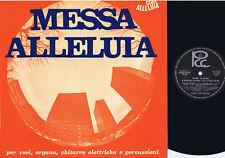 MESSA ALLELUIA Giombini Brancucci 1969 LP PCC psych beat xian prog folk UNPLAYED