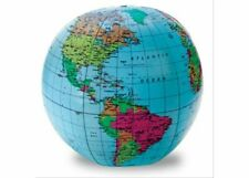 30cm Inflatable World Globe - Learning Resources - Geography Teaching Aid