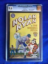Nolan Ryan In The Winning Pitch #1 (1992) Kellogg's Promotional; CGC Graded 9.6