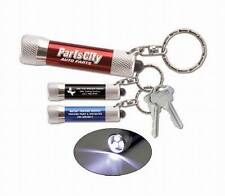 Lot of 24 Pieces - Misprint 3 LED Metal Flashlight Keychains + FREE SHIPPING