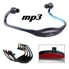 Casque Lecteur MP3 Sans Fil Ecouteur Musique Sport Rechargeable Micro SD Stéréo