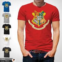 Harry Potter Mens Tshirt T Shirt Red T-Shirt Hogwarts Large Cotton XXL 3XL
