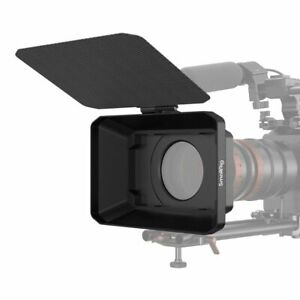 SmallRig  Lightweight Clamp-On Matte Box with Carbon Fiber Top Flag 2660