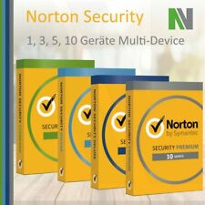 Norton Security 1 3 5 10 PC Geräte 1 Jahr 2020 Windows Mac Android Deluxe Premiu