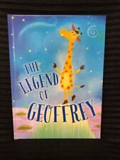 The Legend of Geoffrey TOYS R US Hardcover Book Exclusive - BRAND NEW