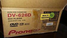 Pioneer DV-626D DVD Player All Regions