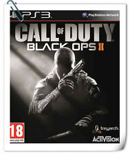 PS3 CALL OF DUTY BLACK OPS 2 II COD SONY PlayStation Shooting Games Activision