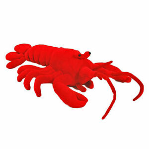"""Lobster Red soft plush toy 10""""/25cm stuffed animal NEW"""