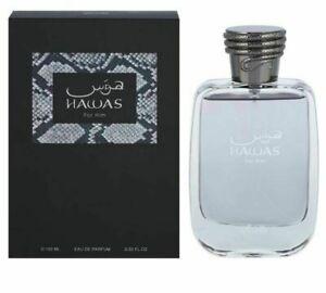 Rasasi Hawas For Him Eau De Perfum 100 Ml EDP /3.4 oz By Rasasi U.A.E
