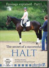 NEW DVD DRESSAGE EXPLAINED Part 1 Secret of a Successful Halt Reinhart Koblitz