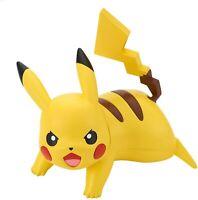 BANDAI SPIRITS Pokemon Plastic Model Kit, Pikachu in Battle Pose, Quick!! 03