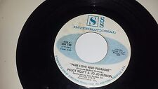 PEGGY SCOTT & JO JO BENSON Pure Love And Pleasure SSS INTERNATIONAL 748 45