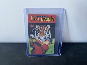 1997 Tiger Woods Cardwon rookie Masters Promo