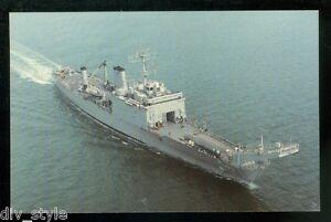 USS Fairfax County LST-1193 postcard  US Navy Tank Landing Ship