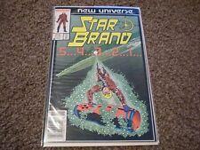 STAR BRAND #2 (1986 Series) Marvel Comics
