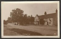 Postcard Coxwold near Thirsk Yorkshire village view posted 1925 RP by Bramley