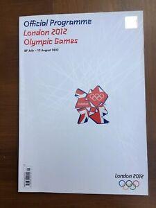 London 2012 Olympic Games Official Programme Colour 196 pages Bolt AJ Boris Coe