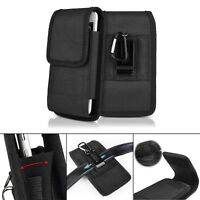 Black Belt Clip Vertical Holster Pouch Carrying Case Cover For Apple iPhone XR